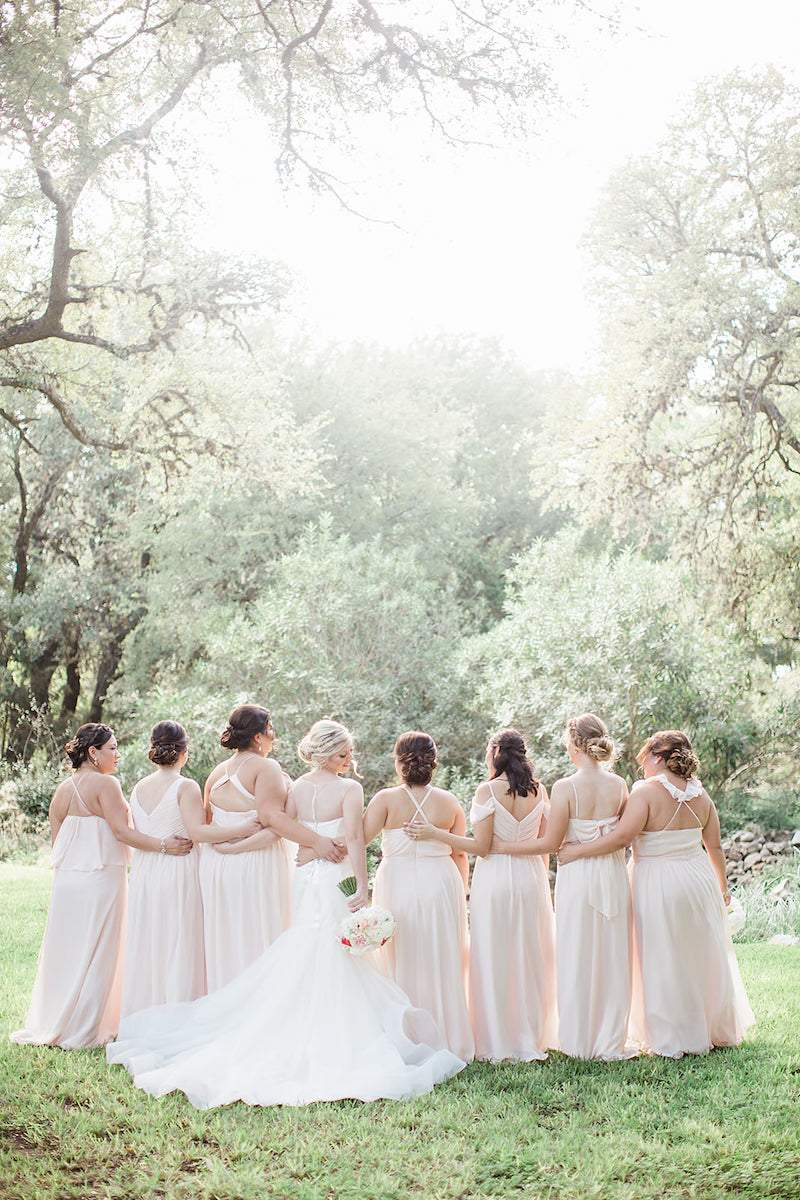 how to pamper your bridesmaids