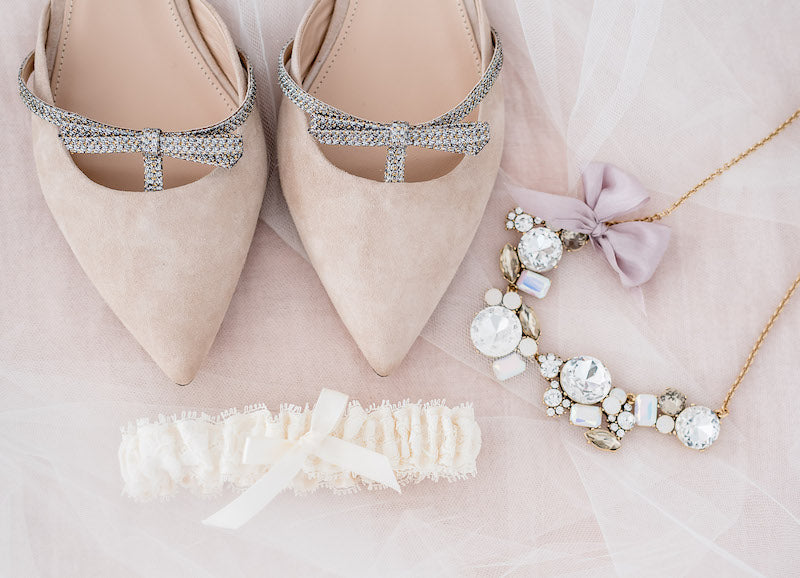 how to use pinterest to plan your wedding - blush bridal accessories