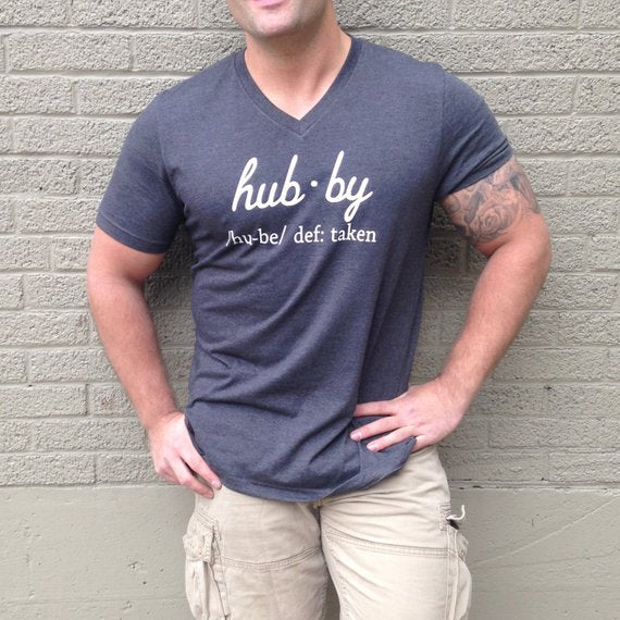 hubby shirt wedding engagement gift for groom