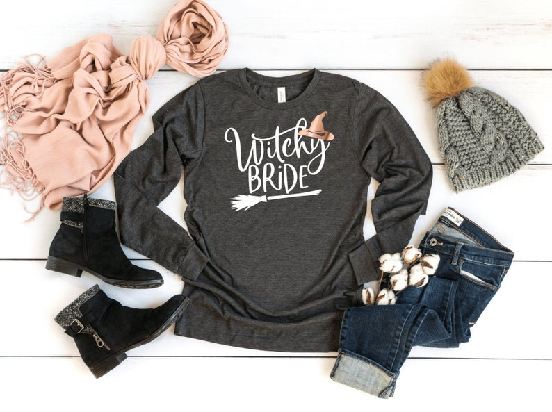 Fall Themed Bridal T Shirt