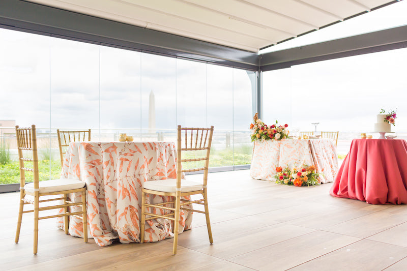 Intimate Vow Renewal Seating Reception
