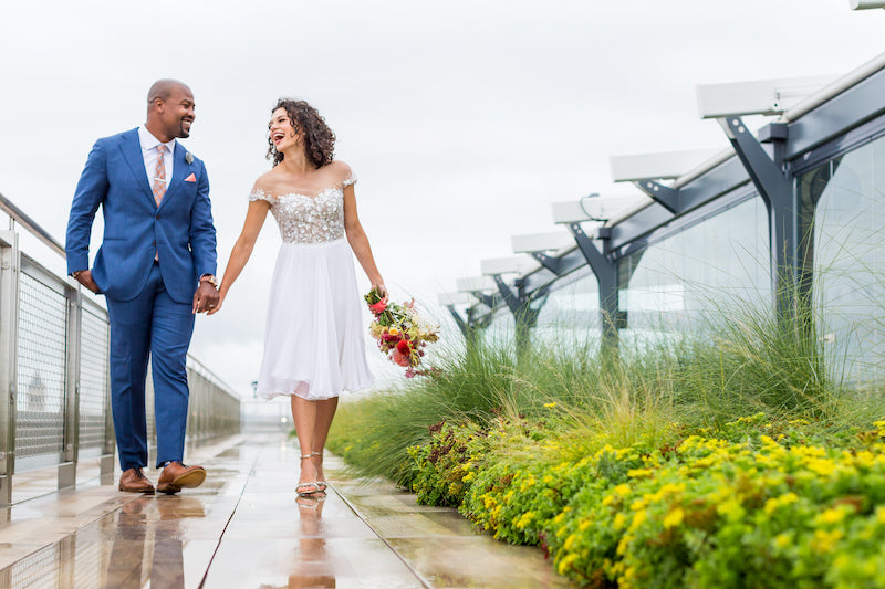 Spy Museum Rooftop Photos Vow Renewal