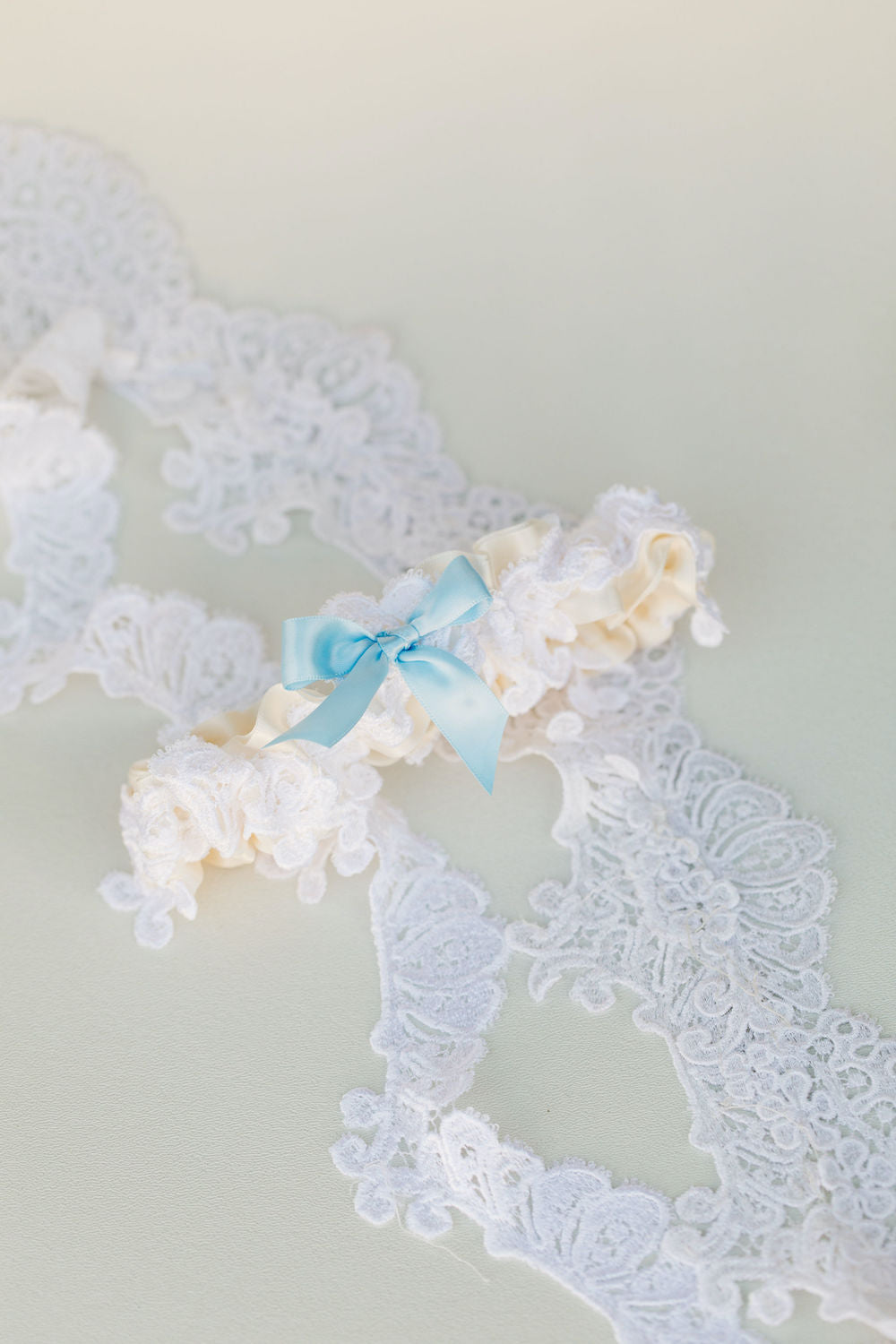 custom wedding garter handmade from bride's mother's wedding dress by expert garter designer, The Garter Girl