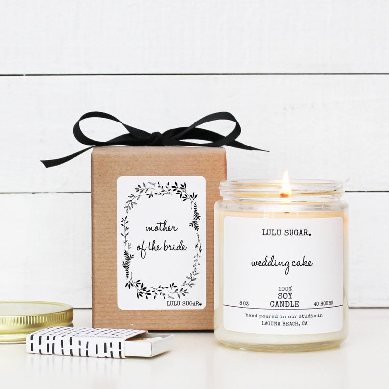 mother of bride candle