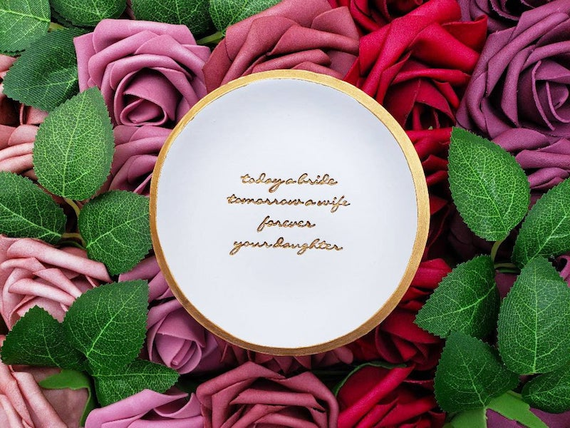 Mother of the Bride Jewelry Dish