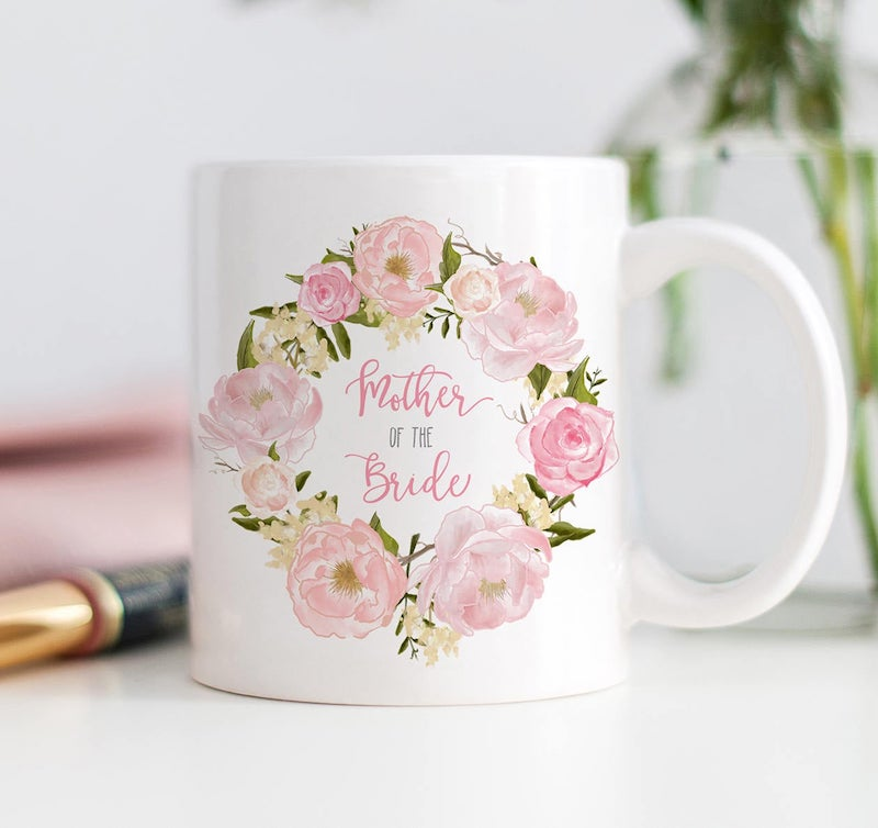 mother of the bride mug gift