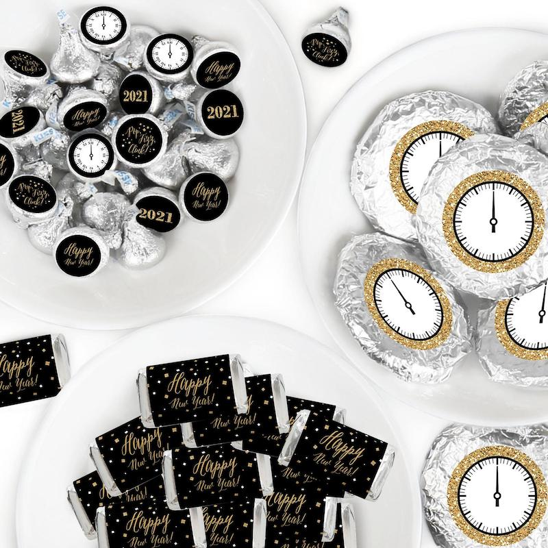 New Years Eve Candy Wrappers Wedding Favors
