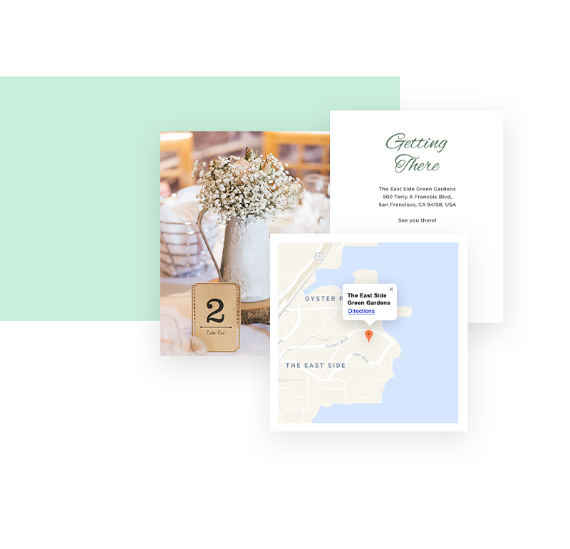 online wedding planning with Wix