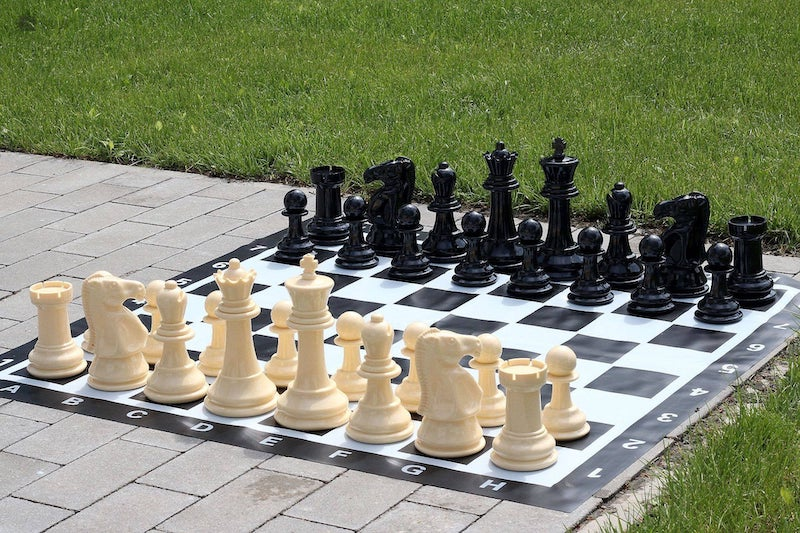 Outdoor Giant Chess Set