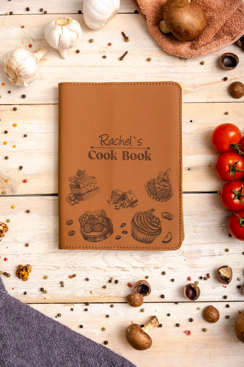 Personalized Cook Book Bridal Shower Gift