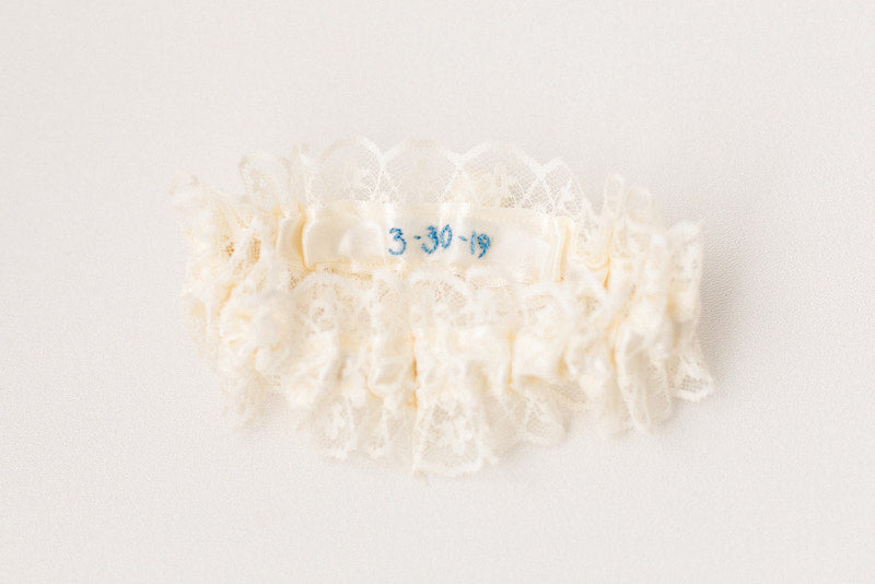 personalized garter