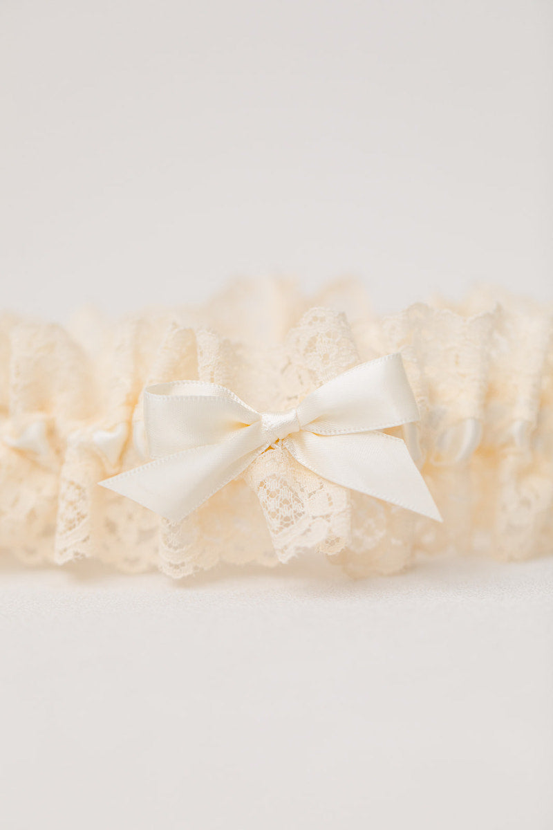 personalized lace garter