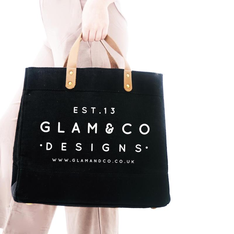 Personalized Tote Bag with Company Logo