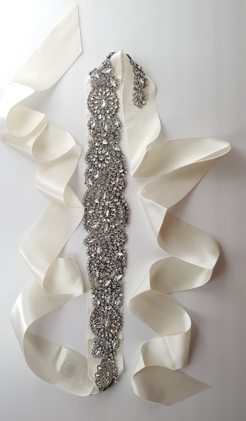 Plus Size Wedding Dress Belt
