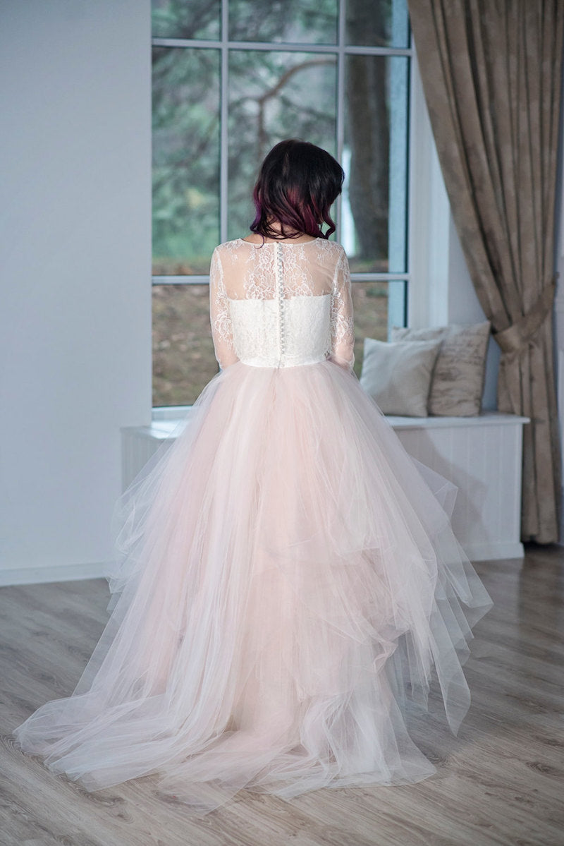 Primrose Lace Wedding Cape