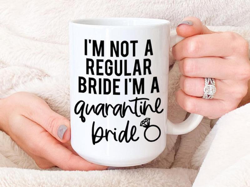 Quarantine Bride Coffee Mug
