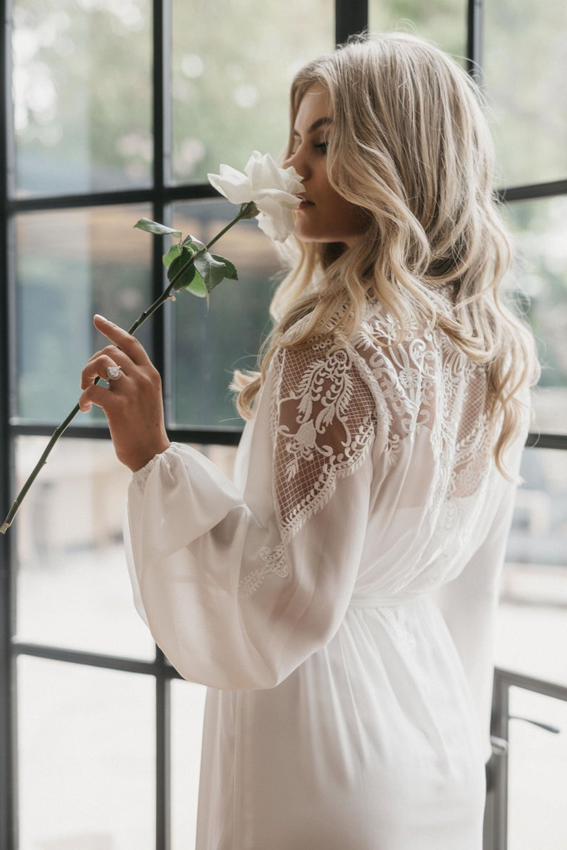 robe for the bride
