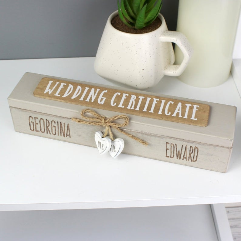 rustic marriage license case