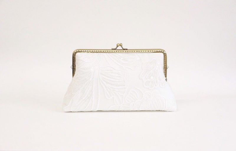 Sequin Lace Brial Clutch