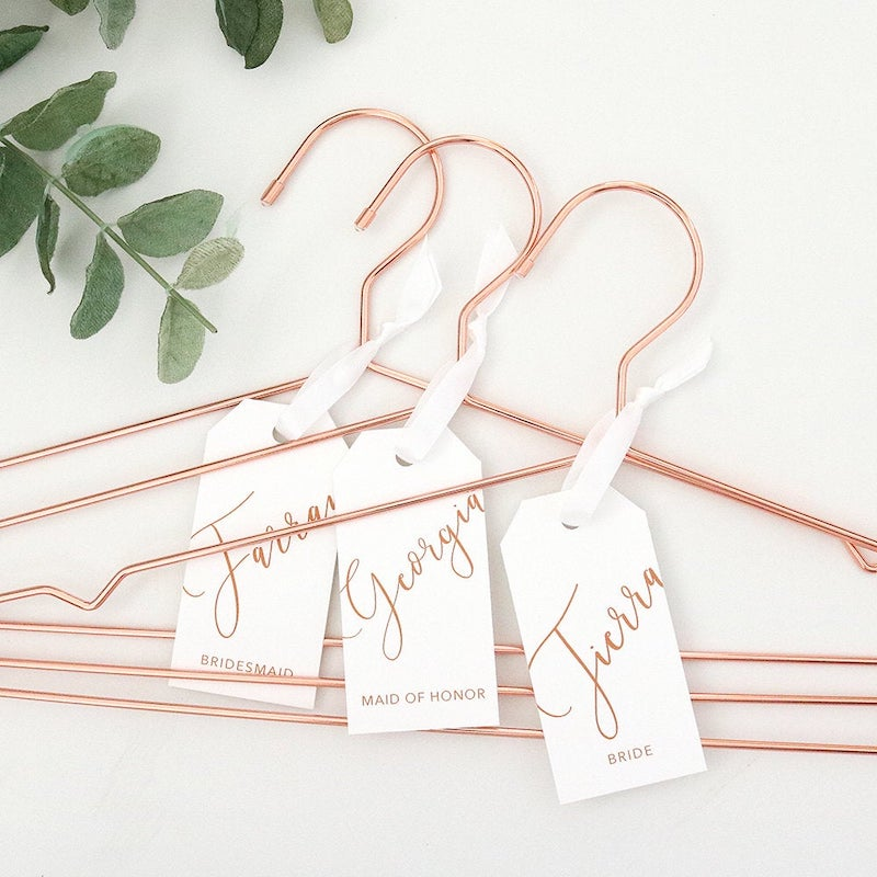 Simple Metal Wedding Dress Hangers