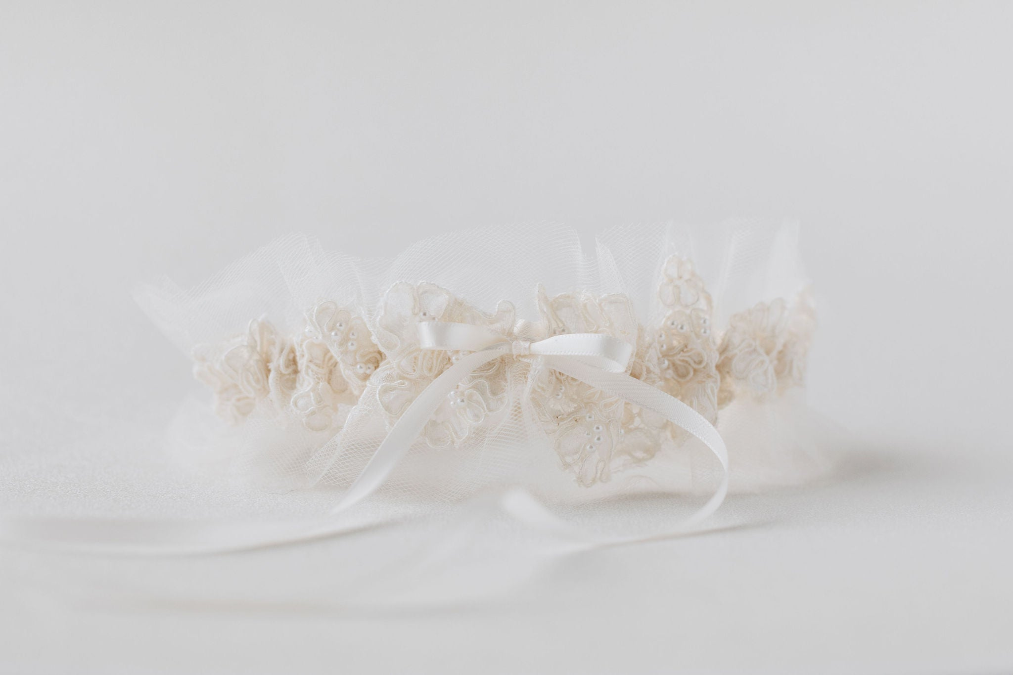 what to do with mother's wedding dress - wedding garters w pearls & lace handmade from the dress sleeves by expert bridal heirloom designer, The Garter Girl