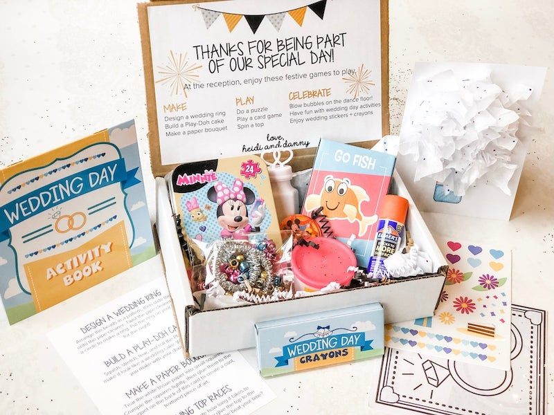Wedding Day Busy Box for Kids