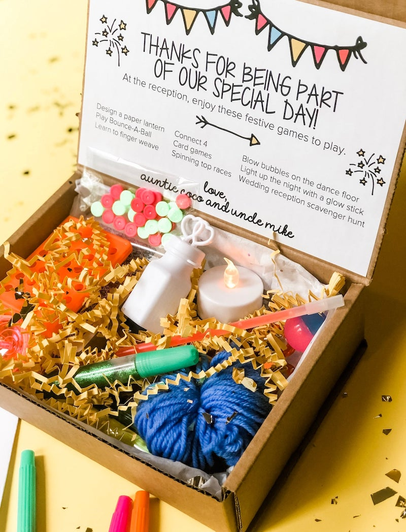 Wedding Busy Box for Tweens