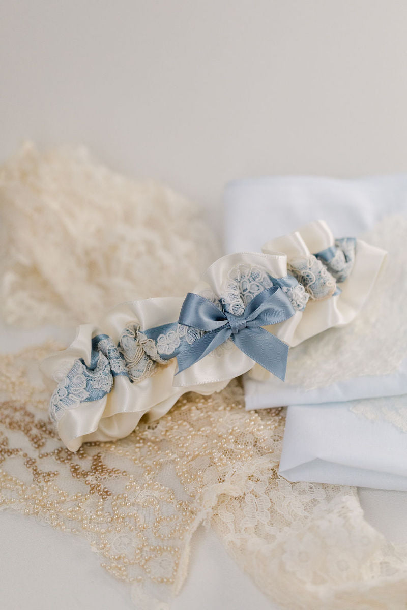 wedding heirlooms made from grandmother's wedding dress