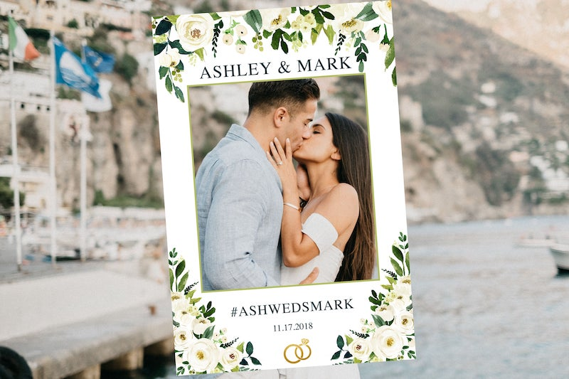 Wedding Photo Booth Frame
