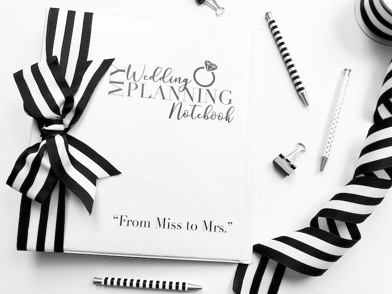 Wedding Planning Binder Printable