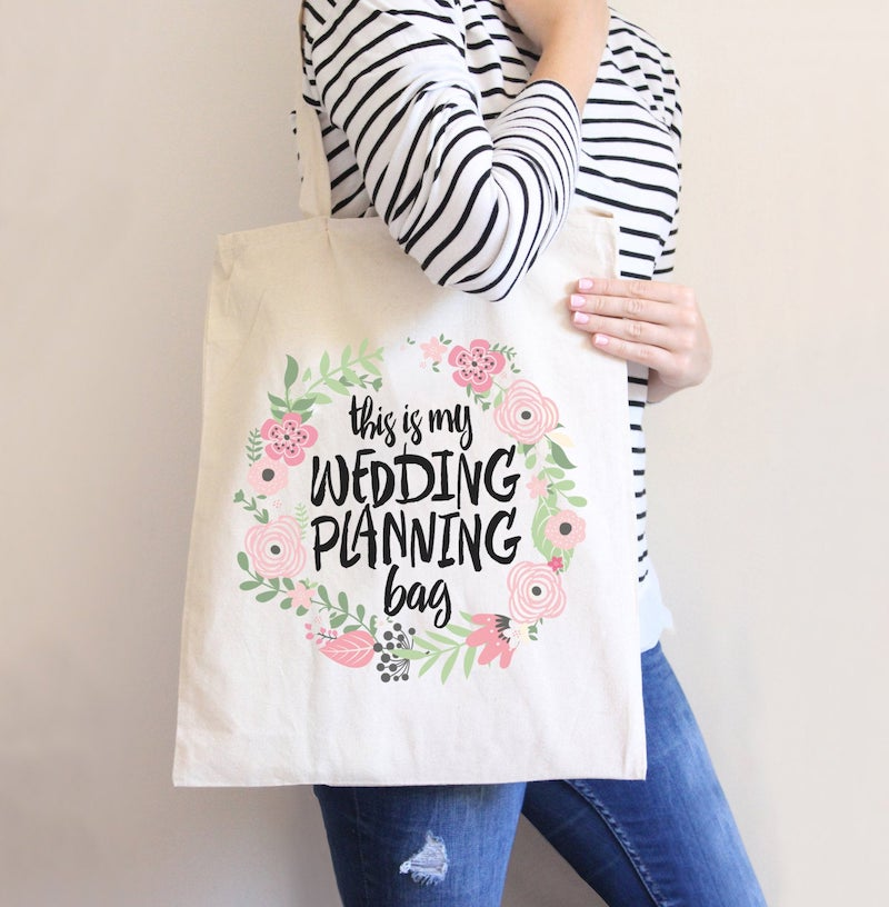 Wedding Planning Tote Bag