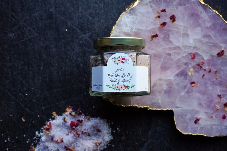 Will You Be My Bridesmaid Bath Salt