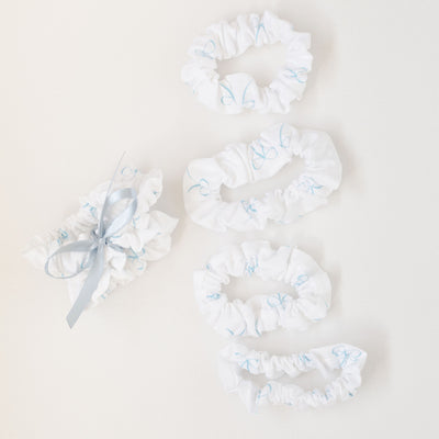 Scrunchies For Bride, Bridesmaid & Bachelorette Gift Set
