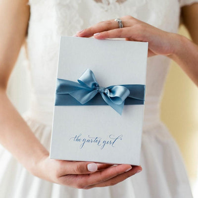 wedding garter gift box from The Garter Girl