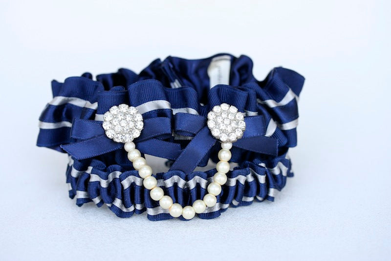 Custom-Navy-and-Pearl-Bridal-Garter