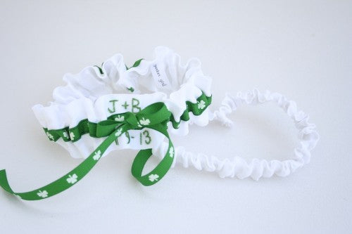 Irish Wedding Garter