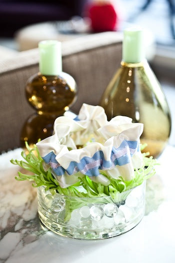 Ivory-and-blue-garter-and-pretty-vase-at-Vastu-The-Garter-Girl-by-Julianne-Smith