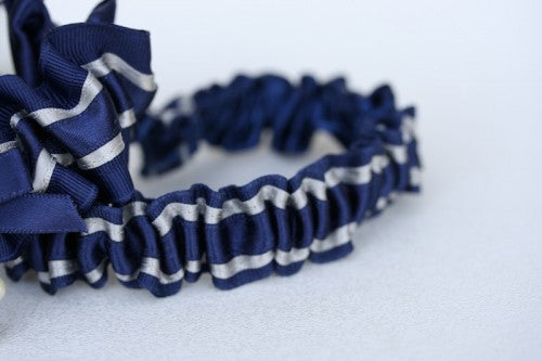 Navy Blue Bridal Garter (1)