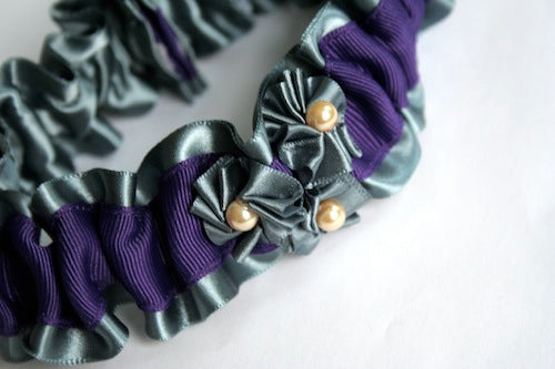 Silver-and-purple-garter-with-ivory-pearls-The-Garter-Girl-by-Julianne-Smith