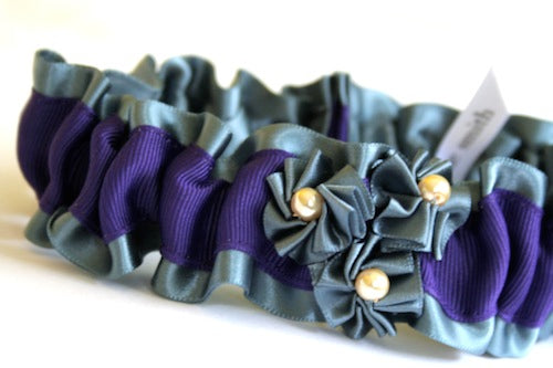 Silver-pearl-rosette-unique-wedding-garter-The-Garter-Girl-by-Julianne-Smith