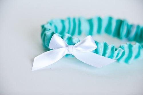 Simple-tiffany-blue-bridal-garter-The-Garter-Girl-by-Julianne-Smith