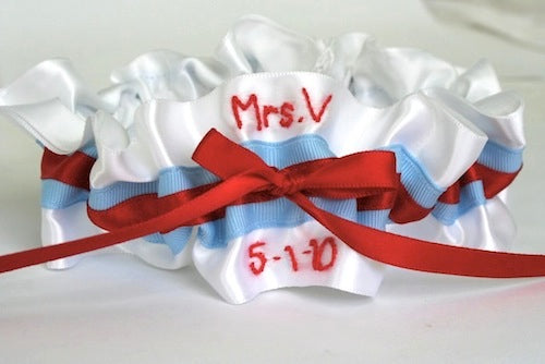 White-light-blue-red-embroidered-wedding-garter-The-Garter-Girl-by-Julianne-Smith