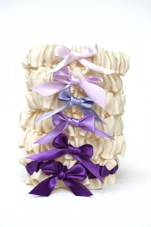 affordable-bridesmaid-gift-wedding-garter-set-ombre-The-Garter-Girl