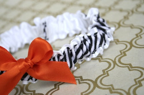 black-white-stripe-orange-wedding-garter-The-Garter-Girl.JPG