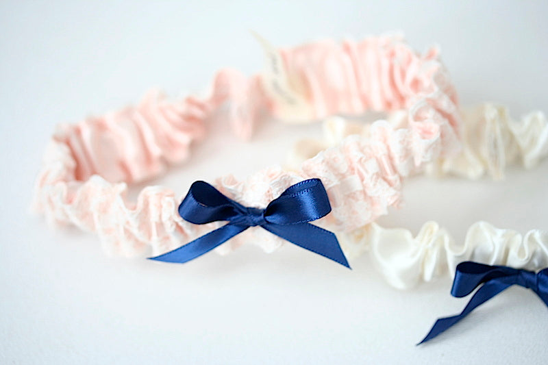 blush-navy-wedding-garter-the-garter-girl