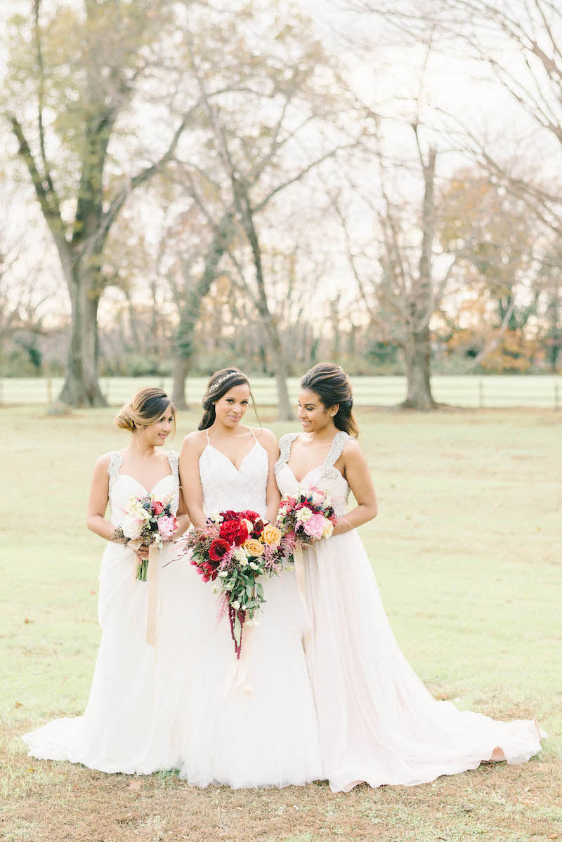 bridal-party-luxurious-winter-wedding-inspiration-Liz-Fogarty-Photography