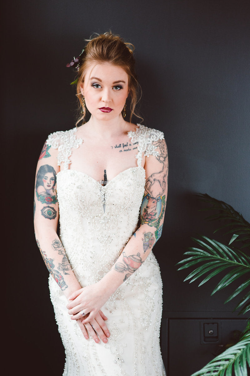 bride-look-rock-n-roll-wedding-ideas