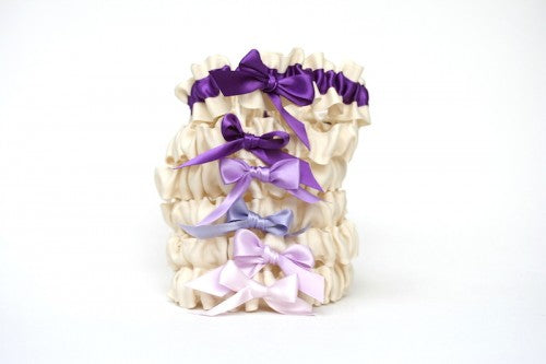bridesmaid-gift-wedding-garter-set-ombre-The-Garter-Girl