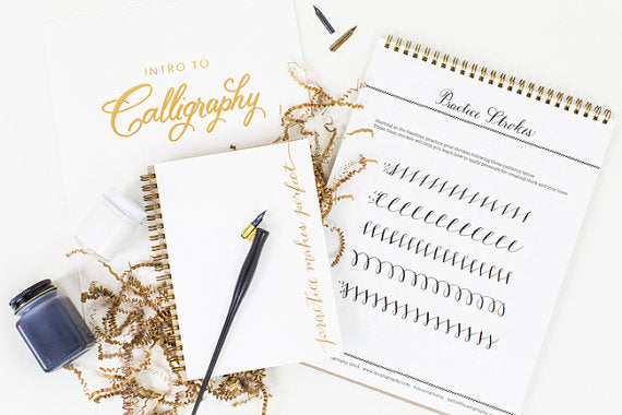 calligraphy-starter-kit-holiday-gifts-for-the-bride