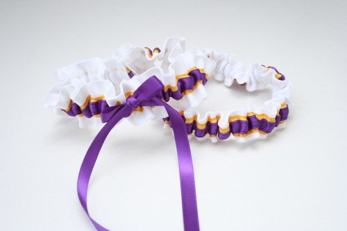 college-wedding-garter-white-yellow-purple-The-Garter-Girl-3
